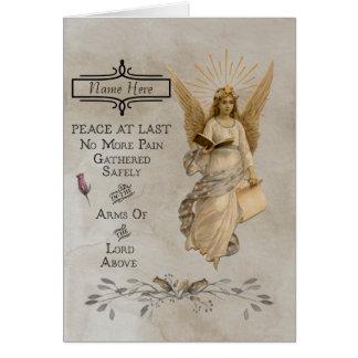 Customisable Condolence/Sympathy Card