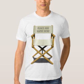 Customisable Director's Chair design T Shirt