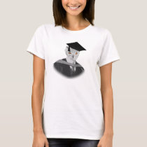 Customisable Graduation Owl Tshirt