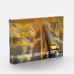 Customisable Organist of the Year award
