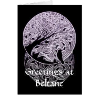 Customisable Pagan/Celtic themed Card