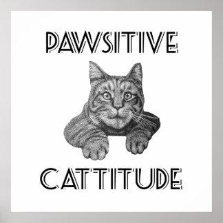 Customisable Positive attidude motivational poster