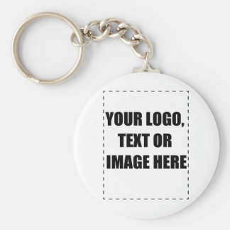 Customisable Products Basic Round Button Keychain