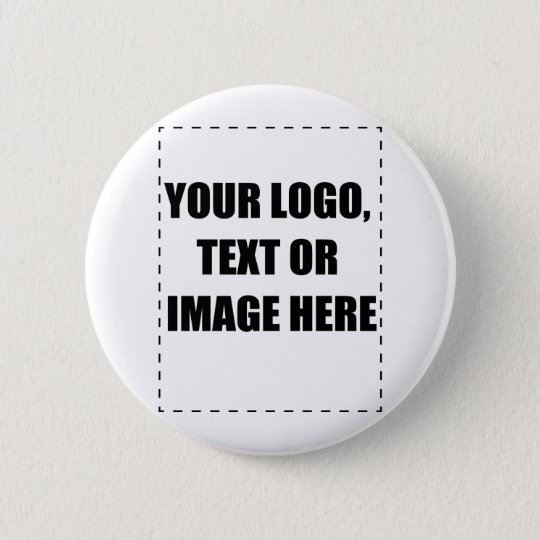 Customisable Products Pinback Button