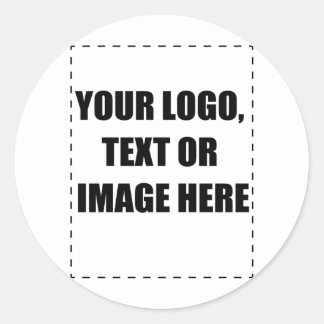 Customisable Products Classic Round Sticker