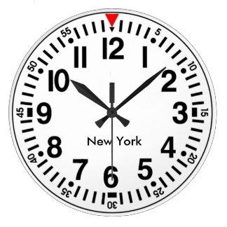 Customisable Worldtime Large Clock