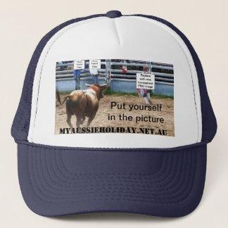 Customise 'Charging Bull' Trucker Mesh Hat