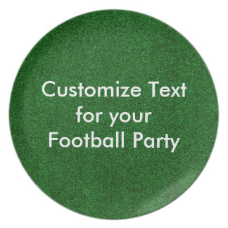 Customise text on melamine plate/football turf melamine plate