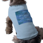 Customise Your Doggie Ribbed Tank Top<br><div class='desc'>A coat for your furry best friend? Replace the Blue square with your own choice of images. Add a message if required otherwise delete the message bit. Alternatively,  delete the image and just have a message. Change the text color to black or a brighter color. Have fun!</div>