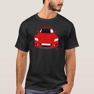 Customised  Mazda RX8 Car T shirt