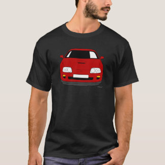 Customised  Toyota Supra Car T shirt