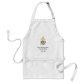 Customizable 100 Year Church Anniversary Adult Apron