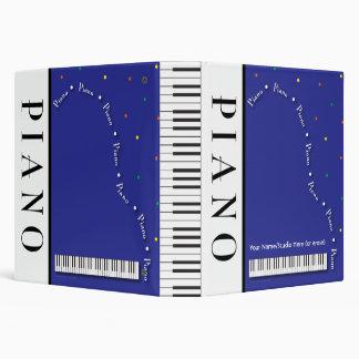 "Customizable 1.5"" Grand Piano Binder"