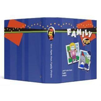Customizable 1.5 inch Famiy Photo Album binder
