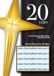 Church Anniversary Invitations Zazzle