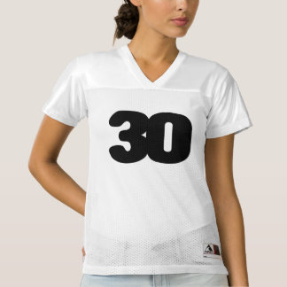 CUSTOMIZABLE 30th BIRTHDAY Football Jersey