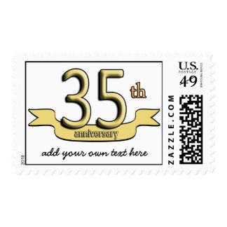 Customizable 35th Anniversary Postage