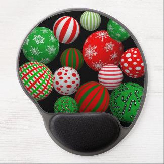 Customizable 3D Christmas Balls Gel Mouse Pad