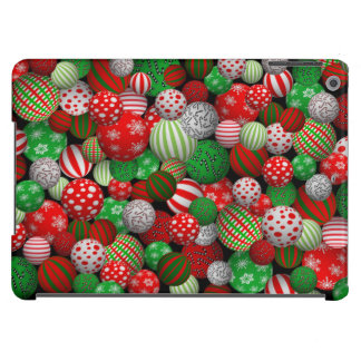 Customizable 3D Christmas Balls iPad Air Cover
