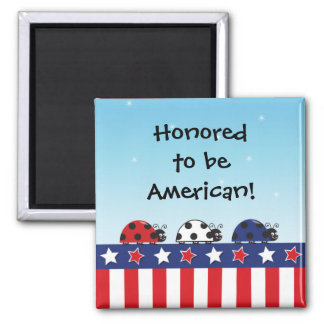 Customizable 4th of July Magnet