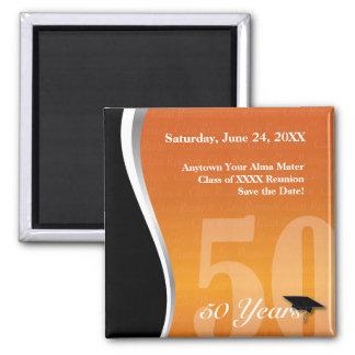 Customizable 50 Year Class Reunion Magnet