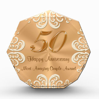 Customizable 50th Golden Wedding Anniversary Gifts