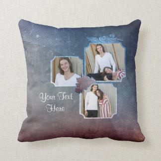Customizable 6-photo pillow