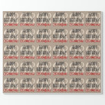 [ Thumbnail: Customizable 98th Birthday Wrapping Paper ]