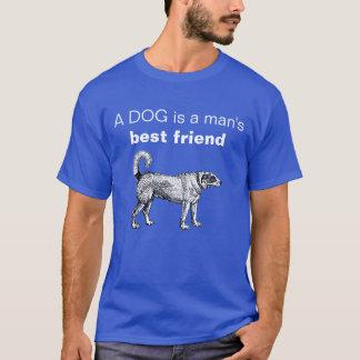 Customizable A dog is a man's best friend T-Shirt