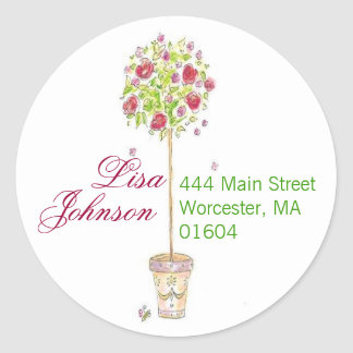 customizable address stickers