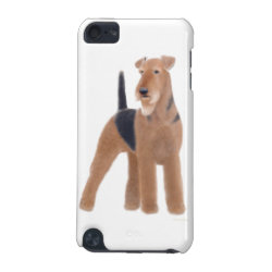 Case-Mate Barely There 5th Generation iPod Touch Case with Airedale Terrier Phone Cases design