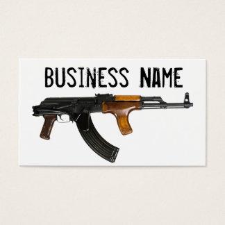 Customizable AK-47 Business Cards