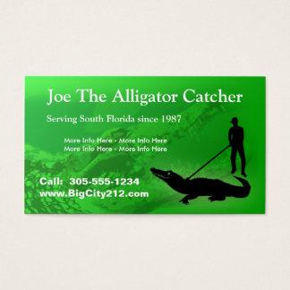 CUSTOMIZABLE Alligator Catcher BC Business Card