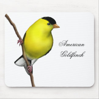 Customizable American Goldfinch Mousepad