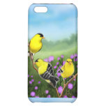 Customizable American Goldfinches iPhone Case Cover For iPhone 5C