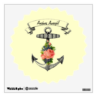 Customizable Anchors Aweigh! Room Decals