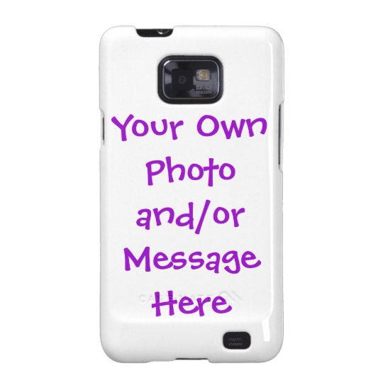 Customizable Android Samsung Galaxy Case