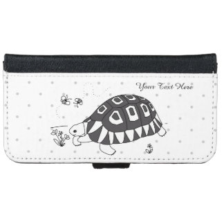 Customizable Angulate Tortoise Phone Wallet Case
