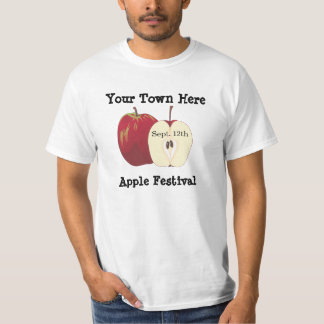 Customizable Apple Fest and Festival Shirt