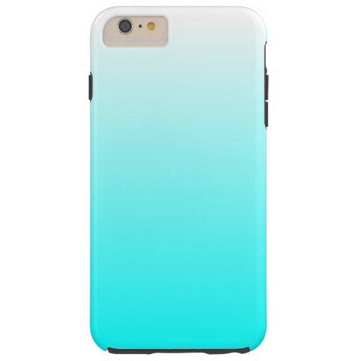 customizable aqua ombre tough iphone 6 plus case zazzle. Black Bedroom Furniture Sets. Home Design Ideas