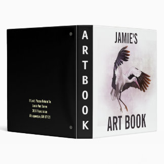 Customizable Art Book, Avery Binder