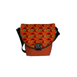 Customizable Atomic Retro Shapes Courier Bag