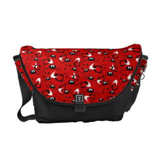 Customizable Atomic Spiders Courier Bag