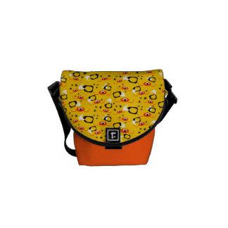 Customizable Atomic Spiders Messenger Bag