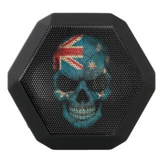 Customizable Australian Flag Skull Black Boombot Rex Bluetooth Speaker