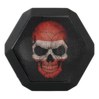 Customizable Austrian Flag Skull Black Boombot Rex Bluetooth Speaker