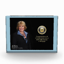 CUSTOMIZABLE AWARD PLAQUE - USE YOUR OWN PHOTO