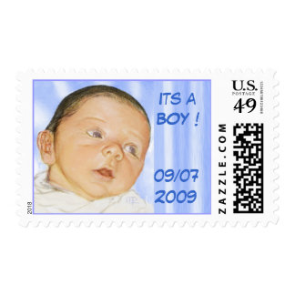 customizable baby card stamps
