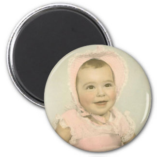 Customizable Baby Photo Magnet