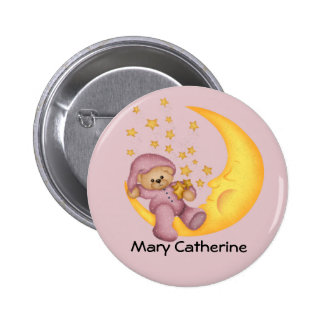 Customizable Baby Shower Favors Button
